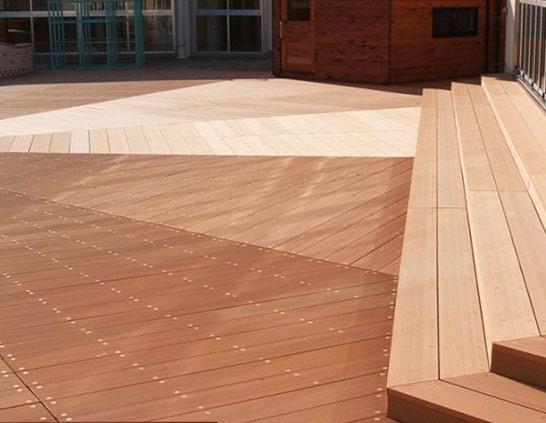 防滑全实木地板